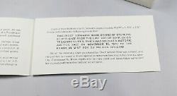 10,000 Grain Sterling Silver Bar Ingot The Franklin Mint Last of U. S. Treasury