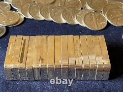 10.4 Troy Oz Of Silver 5 Proof Bars FM Sterling From 1974 All Different Backs