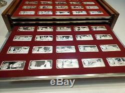 100 Greatest Americans Proof Set Franklin Mint Sterling Silver