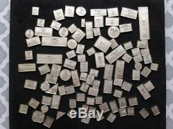 100 Greatest Stamps Of The World Sterling Silver Miniature Collection (y151)