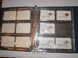 17 Sterling Silver Franklin Mint Membership Coins -mint/sealed In Album Tub MM