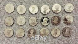18 oz of 1oz. Sterling Silver. 925 rounds silver coins bullion $290 Melt Value