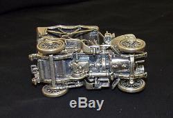 1903 Fiat Franklin Mint Sterling Silver Car Miniature 143 Scale RARE
