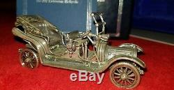 1911 Delaunay Belleville Model Sterling Silver Car Miniature Franklin Mint