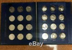 1970 America in Space Sterling Silver Medals Full Collection The Franklin Mint