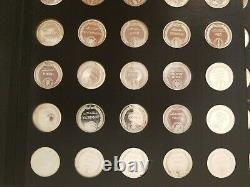 1970 Franklin Mint States of the Union Sterling Silver 925 Coin Series