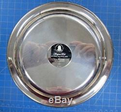 1972 Franklin Mint Sterling Silver Plate Horizons West By Richard Baldwin