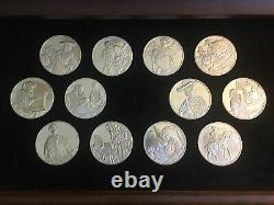 1972 Franklin Mint's Sterling Silver 49 medals, series The Genius of Rembrandt