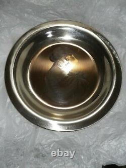 1972 Solid Sterling Silver Franklin Mint Mother's Day Plate Mother and Child