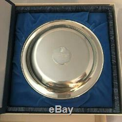 1973 Franklin Mint Mother & Child Irene Spencer Mothers Day 8 plate. 925 Silver