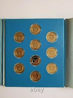 1974-79 Franklin Mint Gold On Sterling Silver Masterpieces Of Impressionism 21