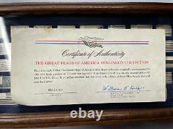 1974 Franklin Mint Great Flags of America Mini-Ingot Collection Sterling Silver