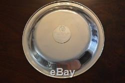 1974 Franklin Mint Sterling Silver Mothers Day Plate 8 # 3287 Ltd Ed With Box