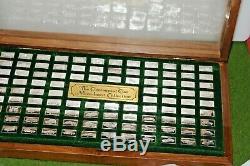 1975 Franklin Mint Centennial Car 100 Sterling Silver Mini Ingot Collection