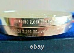 1976 4.17 Troy oz. Sterling Silver Franklin Mint Bicentennial Medals