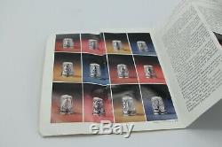 1978 Franklin Mint 13 Sterling Silver Colonial America Thimbles Vintage