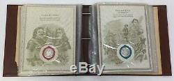 1981 The Worlds Great Historic Seals 50 Sterling Silver Set Franklin Mint Coin