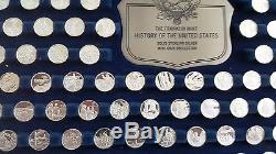 200 pc Solid Sterling Silver History of the US Mini-Coin Set from Franklin Mint