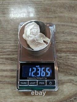 24.62 ozt STERLING SILVER 22+ 999 FINE Michelangelo Bullion COINS Art Bars