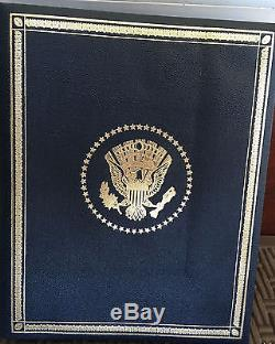 36 Franklin Mint Treasury Presidential Sterling Silver Medals American Expres