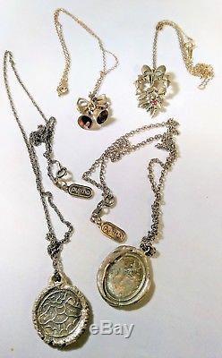 4 925 Sterling Silver Necklaces Pyrrha Unicorn Talisman Franklin Mint Christmas
