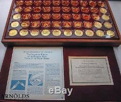 50 1 0z + STERLING SILVER Governors Edition by The Franklin Mint