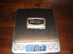 50 -1/2 OZ Sterling Silver Ingots (925) Franklin Mint 50 USA BANKS 105 OUNCES