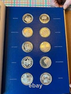 50 State Bicentennial Medal Collection Limited Edition Solid Sterling Silver