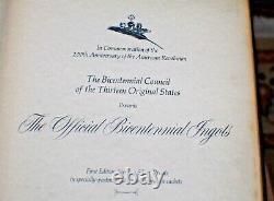 70 Ingots Sterling Silver Bicentennial 200th Anniversary 120 Oz Pure Silver