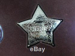 Badges Sheriff Deputy Marshall Ranger Police Franklin Mint 1987 Sterling Silver