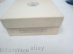 FRANKLIN MINT 1973 PRESIDENT NIXON INAUGURATION MEDAL STERLING SILVER 197g