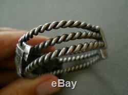 FRANKLIN MINT Southwestern Turquoise Sterling Silver Thunderbird Cuff Bracelet