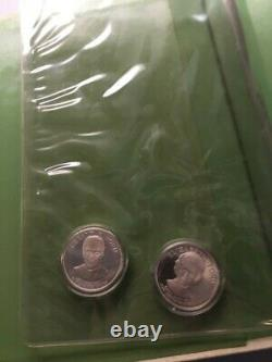 First Ladies of the United States Sterling Silver Proof Set 40 + 2 Medals