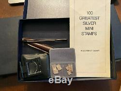 Franklin Mint 100 Greatest Stamps of the World Sterling Silver Complete Set