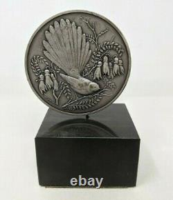 Franklin Mint 1971 James Berry New Zealand Sterling Silver Medal Coin TT20