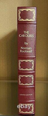 Franklin Mint 1972 Norman Rockwell The Carolers Sterling Silver Plate