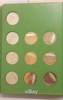Franklin Mint 40 FIRST LADIES U. S. A. Album STERLING SILVER Medal Set 1971