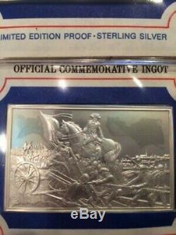 Franklin Mint 48 pc. Bicentennial Council 2 oz. Sterling Silver Ingots