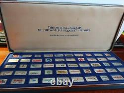 Franklin Mint 50 Silver Piece The Official Emblems of the World's Greatest Airli