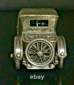 Franklin Mint 925 Sterling Silver 1911 Hispano-suiza Alfonso XIII Miniature Car