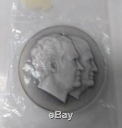 Franklin Mint 925 Sterling Silver Nixon Agnew Medal 73359-11 Eb