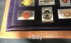 Franklin Mint Automobile Emblem Sterling Silver Ingots Incomplete (39 of 50)