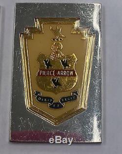 Franklin Mint Automobile Emblems Sterling Silver & 24k Gold Plated Ingots 23/50