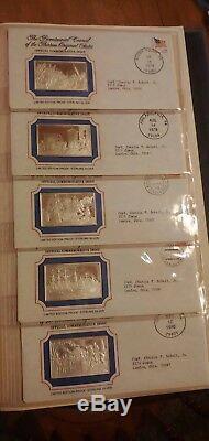 Franklin Mint Bicentennial 70 Ingots Sterling Silver Proof Set No Reserve