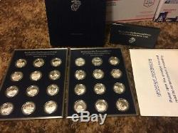 Franklin Mint Bicentennial History of United States MARINE Corps Silver Coin Set