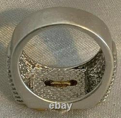 Franklin Mint Bold Spirit Harley-Davidson Ring Silver + 24K accents