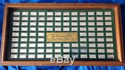Franklin Mint Centennial CarCollection Silver mini Ingots (100)