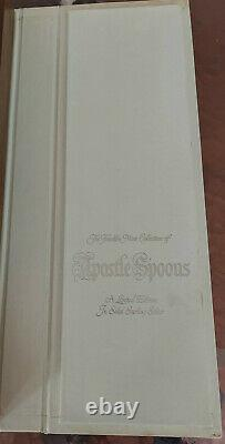 Franklin Mint Collection APOSTLE SPOONS Limited Edition Sterling Silver 1973