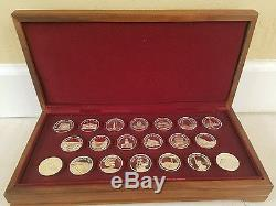 Franklin Mint Great American Landmarks Solid Sterling Silver Medals