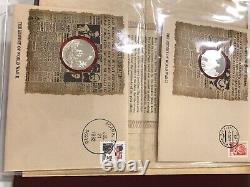 Franklin Mint History of WWII Proof Set First Edition 1979 Sterling Silver
